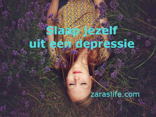 Slaap jezelf uit een depressie