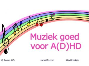 Muziek goed voor AD(H)D
