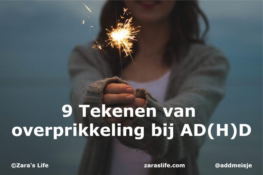 9 Tekenen van overprikkeling bij AD(H)D